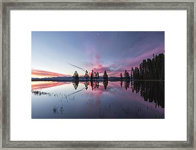 Slide Into The Day Framed Print by Jon Glaser