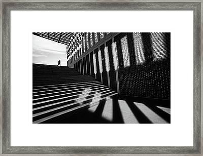 Slides By Framed Print