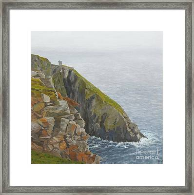 Slieve League County Donegal Framed Print