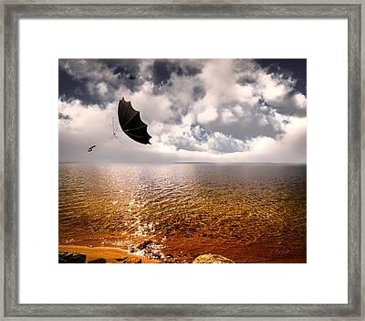 Slight Chance Of A Breeze Framed Print by Bob Orsillo