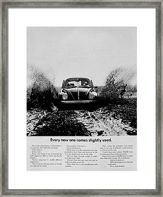 Slightly Used Framed Print by Benjamin Yeager
