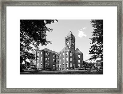 Slippery Rock University Old Main Framed Print by University Icons