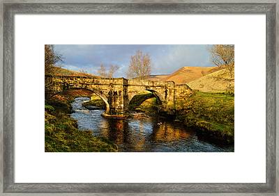 Slippery Stones Framed Print