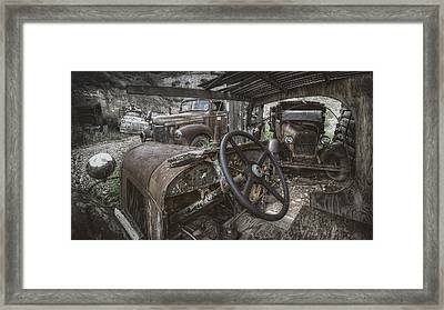 Slipping Away Framed Print by Sean Foster