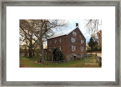 Sloan Park Grist Mill Framed Print