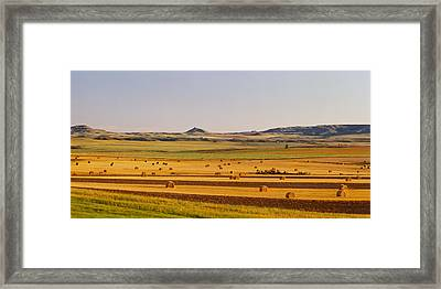 Slope Country Nd Usa Framed Print
