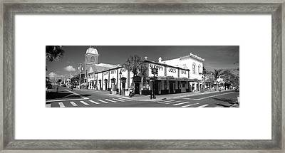 Sloppy Joes Bar Key West Fl Framed Print
