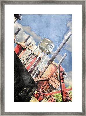Sloss Furnace Framed Print by Davina Washington