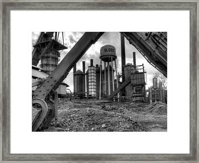 Sloss Furnace Framed Print