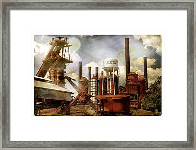 Sloss Furnace II Framed Print by Davina Washington