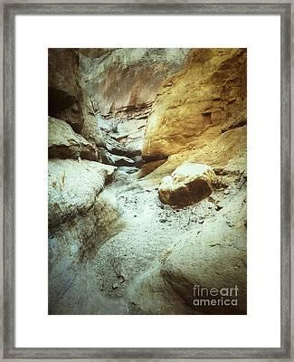 Slot Canyon Framed Print