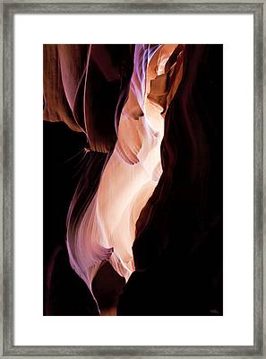 Slot Canyon Arizona Framed Print