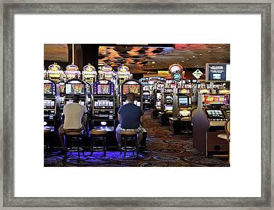 Slot Machines Framed Print by Bildagentur-online/mcphoto-schulz