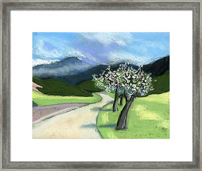 Slovenia. Kamnik. Framed Print by Lelia Sorokina