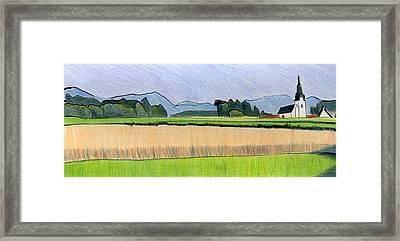 Slovenia. Kranj. Framed Print by Lelia Sorokina