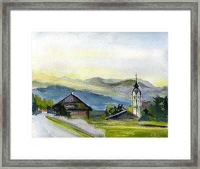 Slovenia. Vrhnika. Framed Print by Lelia Sorokina