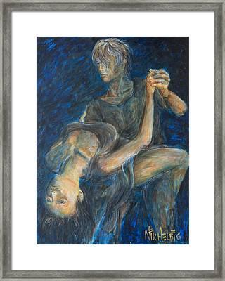 Slow Dancing V Framed Print