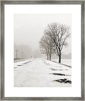 Slow Going II Framed Print by Julie Dant