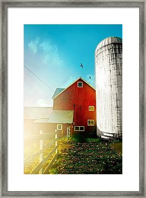 She Rides Here Framed Print by Diana Angstadt
