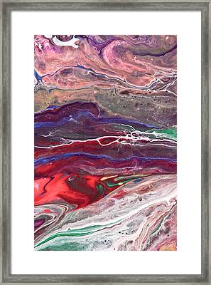 Slow Moving Framed Print by Jacob Brewer