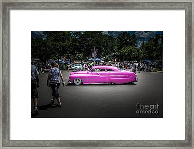 Slow Roll Framed Print by Perry Webster