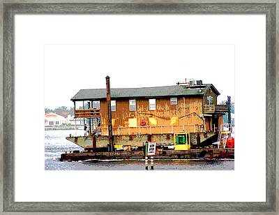 Framed Print featuring the photograph Slow Speed by Marty Gayler