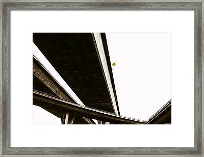 Slow Trucks Framed Print by Joseph Smith