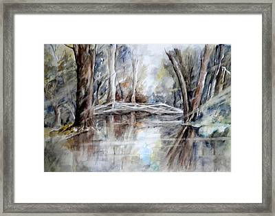Slow Waters Framed Print