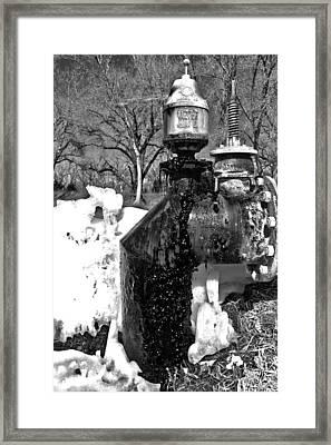 Sludge Framed Print