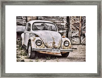 Slug Bug Framed Print by Ken Smith