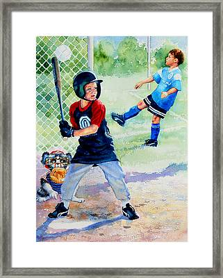 Slugger And Kicker Framed Print by Hanne Lore Koehler