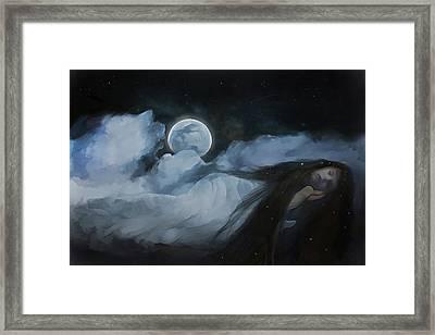 Slumberland Framed Print by Hazel Billingsley