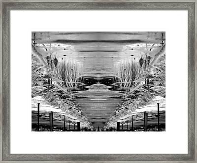 Slush Framed Print