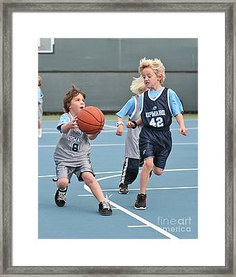 Framed Print featuring the photograph Small Ball by Jim Carrell