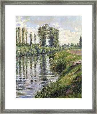 Small Branch Of The Seine At Argenteuil Framed Print