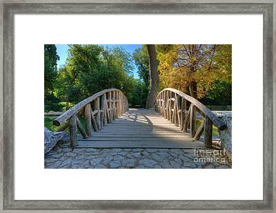 Small Bridge Framed Print by George Atsametakis