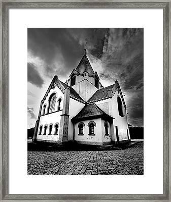 Small Church Framed Print