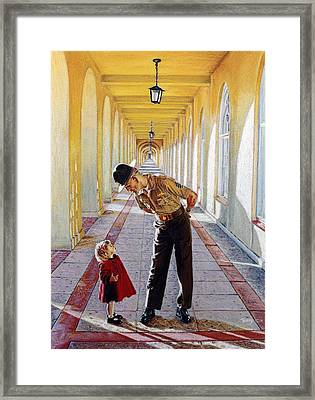 Small Details Framed Print by Robert Tracy