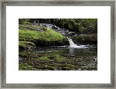 Small Falls On West Beaver Creek Framed Print