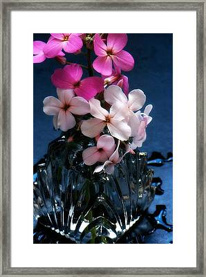 Framed Print featuring the photograph Small Flowers by Michael Dohnalek