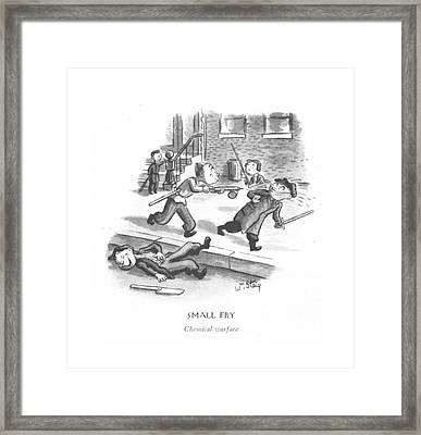 Small Fry Chemical Warfare Framed Print