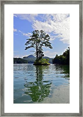 Small Island Framed Print by Susan Leggett