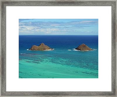 Small Islands Framed Print