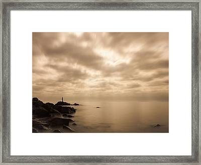 Small... Framed Print