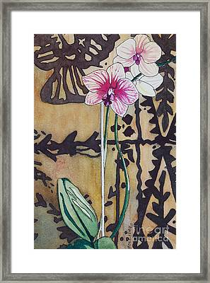 Small Orchids Framed Print