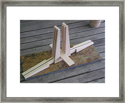 Small Part Of A Larger Assembly Framed Print by Mark Van Norman
