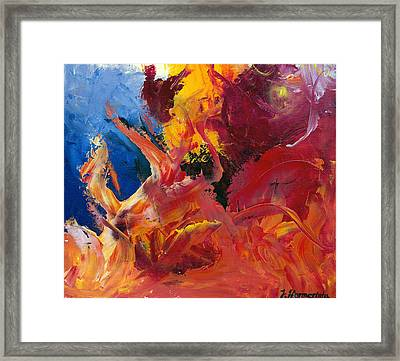 Small Passion 1 Framed Print