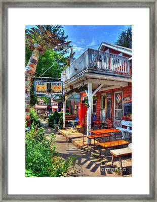 Small Town America 3 Framed Print by Mel Steinhauer