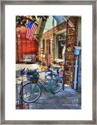 Small Town America Framed Print