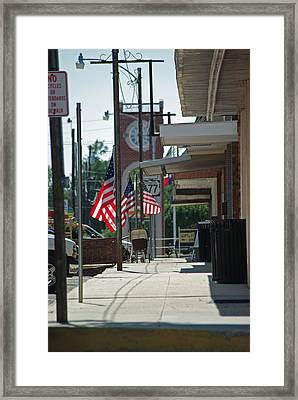 Small Town America Framed Print by Robyn Stacey